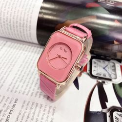 Đồng hồ da màu giá sỉ