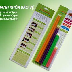 Bộ 8 cái dụng cụ kẹp túi thực phẩm dễ dàng sử dụng, độ bền cao, có răng cửa giữ chắc không dễ rơi sau khi niêm phong giá sỉ