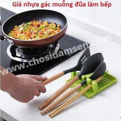 Miếng gác Muỗng Đũa đa năng, Giá kê đũa đảm bảo vệ sinh trong quá trình nấu bếp. Dụng cụ tiện ích cho bếp nhà bạn giá sỉ