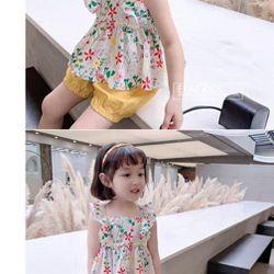 Bộ đồ trẻ em - bộ nơ bé gái giá sỉ
