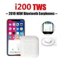Tai nghe bluetooth i200 sạc không dây được kiểu dáng airpods giá sỉ