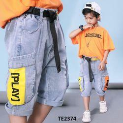 Quần jean phong cách hip hopTE2374 giá sỉ