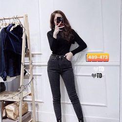 Quần jeans nữ thời trang - Mua quần jeans nữ lưng cao rẻ đẹp giá sỉ