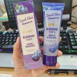 Tẩy tế bào chết mặt tinh chất nha đam - blueberry giá sỉ
