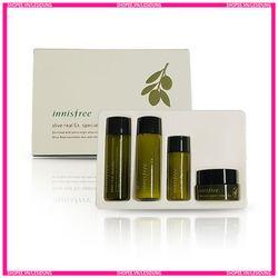 Bộ 4 Sản Phẩm Dùng Thử Skin & Lotion & Essence & Cream Dưỡng Ẩm Cao Cấp i.n.n.i.s.f.r.e.e Olive Real Special Kit giá sỉ