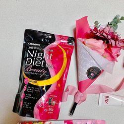 Trà Giảm Cân Đẹp Da Ban Đêm Orihiro Night Diet Tea Beauty 2g x 16 Gói Nhật Bản giá sỉ
