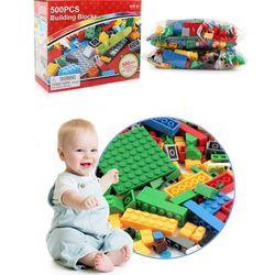 Set 500 khối đồ chơi ráp hình nhiều màu sắc giá sỉ