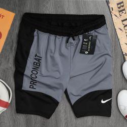 Quần áo thể thao - quần short thể thao nam phối 2 màu khỏe khoắn- giá xưởng giá sỉ