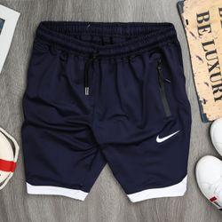 Quần áo thể thao - quần short thể thao nam phối viền vạt bầu - giá xưởng giá sỉ