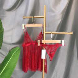 Đồ ngủ váy ngủ sexy voan lông mi hàng quảng châu giá sỉ
