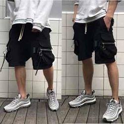 Quần short kaki túi hộp - túi hông giá sỉ