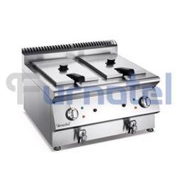 Bếp chiên 2 rổ dùng gas FCXGFR-0707 Furnotel giá sỉ
