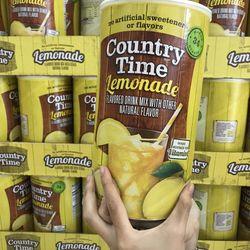 Bột pha nước chanh Country Time Lemonade 2.33kg của Mỹ