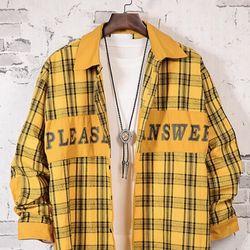 áo sơ mi sọc vàng giá sỉ