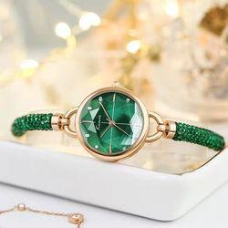 Đồng hồ nữ thời trang KIMIO 6328 dây rút đá pha lê