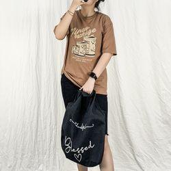 Áo Thun Nữ Tay Ngắn Cổ Tròn Freesize Thun Cotton 100% In Họa Tiết VINTAGE giá sỉ