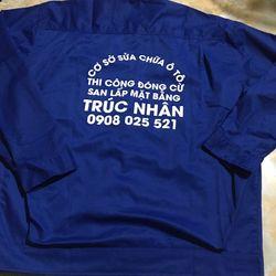 Đồng phục áo bảo hộ lao động - áo công nhân xây dựng giá sỉ