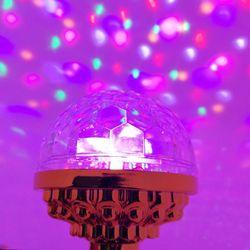 Đèn led 7 màu vũ trường ( kèm chuôi) giá sỉ