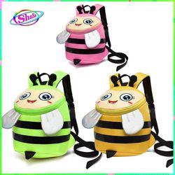 Balo cho bé gái ong bầu dễ thương kèm dây chống đi lạc thời trang hàn quốc Shalla giá sỉ