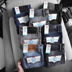 Quần jean nam dài Le Vi 7 màu đẹp giá sỉ