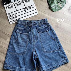 Quần ngố jean nữ túi kiểu chuyên sỉ jean 2KJean giá sỉ