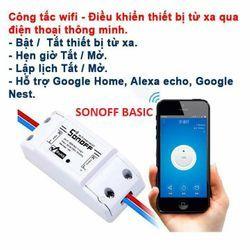 Công Tắc Điều Khiển Từ Xa WiFi Sonoff giá sỉ
