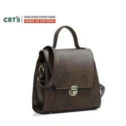 Túi đeo chéo nữ CNT TĐX53 thời trang Nâu giá sỉ