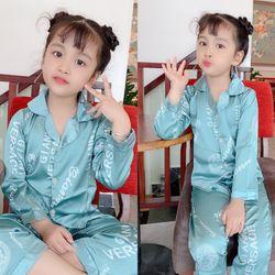 Bộ mặc nhà thu đông - bộ pijama lụa 20-30kg giá sỉ