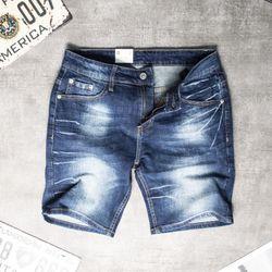 Quần Short Jeans Nam Xanh Đậm Mã 01 giá sỉ