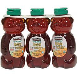 Mật ong Kirkland Organic Raw Honey 680g/1 chai - Hàng Mỹ