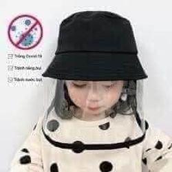 Mũ chống nắng chống dịch cho bé tơi trường giá sỉ