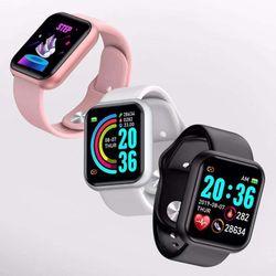 Đồng hồ thông minh Y68 chống nước kết nối bluetooth hỗ trợ theo dõi sức khỏe giá sỉ
