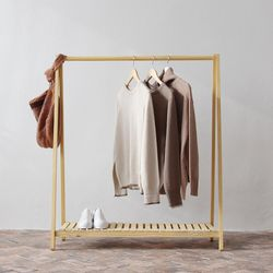 Giá treo quần áo chữ A bằng gỗ giá sỉ