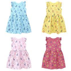Váy Bé Gái MEEJENA Đầm bé gái 95% COTTON 5% SPANDEX giá sỉ