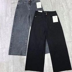 Quần jeans ống suông 5 màu giá sỉ