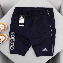 Quần áo thể thao - quần short thể thao nam Das phối sọc khỏe khoắn- giá xưởng giá sỉ