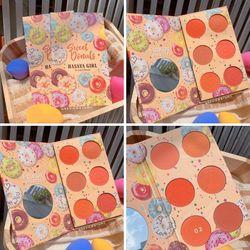 Bảng Má Hồng 6 ô Sweet Donuts Hasaya Girl giá sỉ