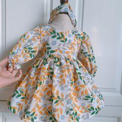 Đầm bé gái thiết kế bán kèm phụ kiện giá sỉ