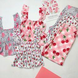 Đồ ngủ đồ mặc nhà hai dây quần dài Thun bo họa tiết Lụa VN giá sỉ