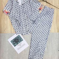 Đồ ngủ đồ mặc nhà tnqd viền Hoa Lụa QC giá sỉ