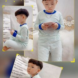 Bộ đồ trẻ em - bộ cotton xuất dư giá sỉ