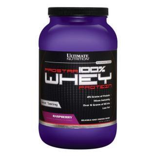 Prostar 100 whey protein - sữa tăng cơ giảm mỡ vị dâu rừng 907gr giá sỉ