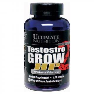 Testostro grow hp - viên uống tăng cường testoterone tự nhiên cho nam giới 126 viên