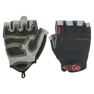 Găng tay chuyên nghiệp sport-tac cho nam màu xám và đen size m