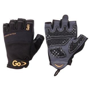 Găng tay chuyên nghiệp sport-tac cho nam màu xám và đen size l
