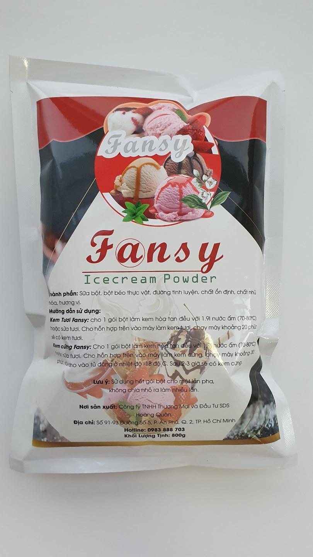 Fansy - Bột Làm Kem