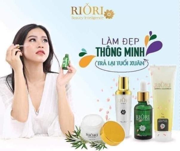 Mỹ phẩm thiên nhiên Riori